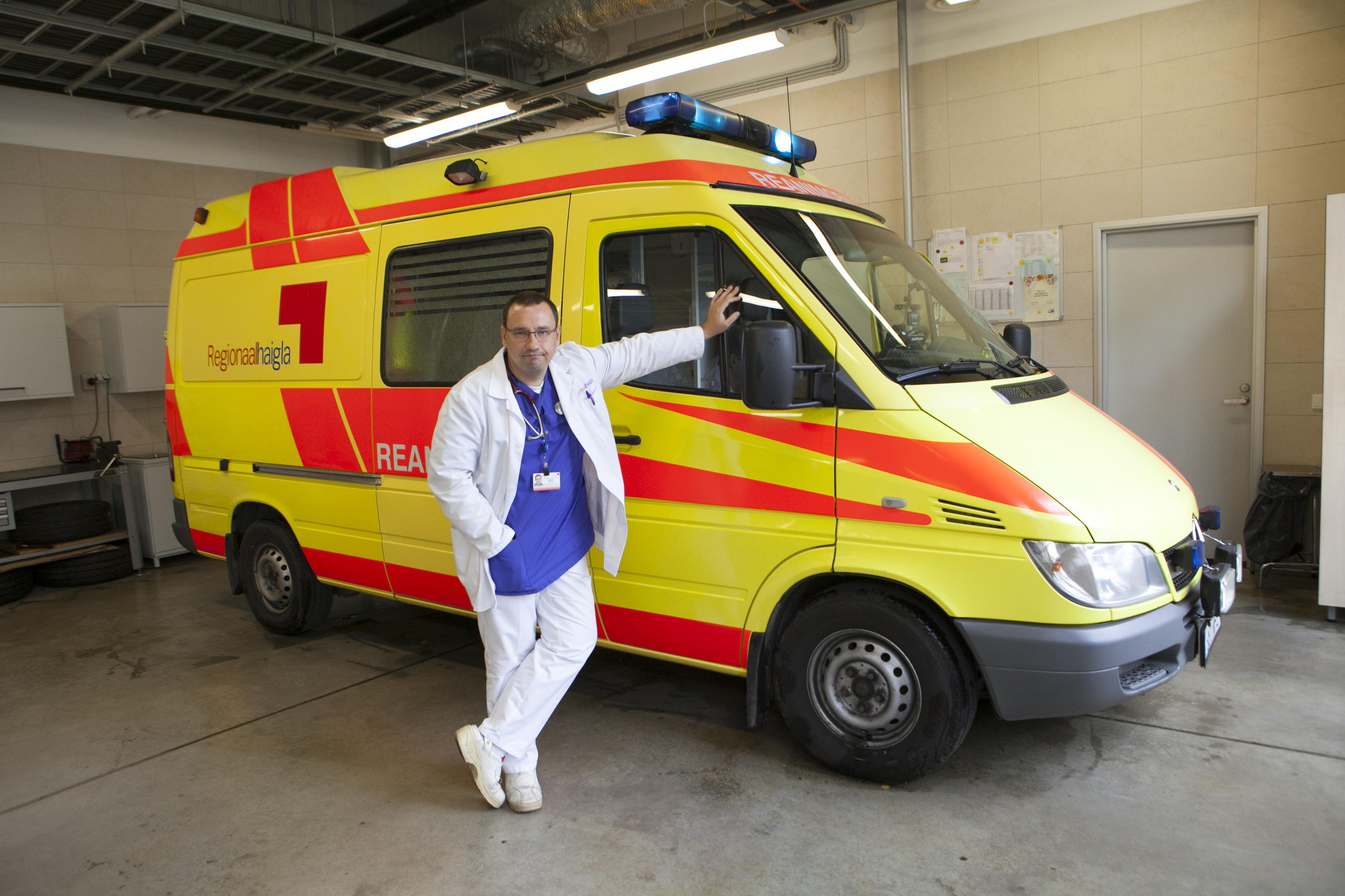 Медицинский руководитель кризисного штаба и руководитель центра скорой помощи Северо-Эстонской Региональной больницы Аркадий Попов о готовности скорой помощи бороться с коронавирусом