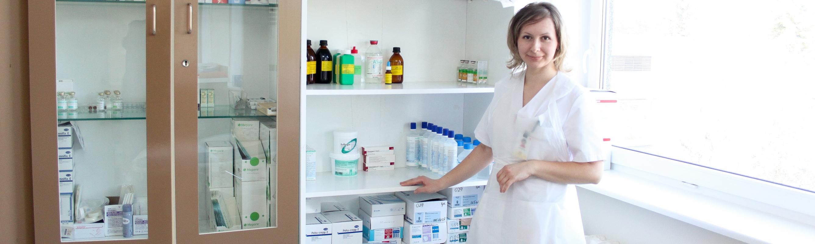 Järelravi kliiniku aasta õde 2013 Olga Batšinskaja