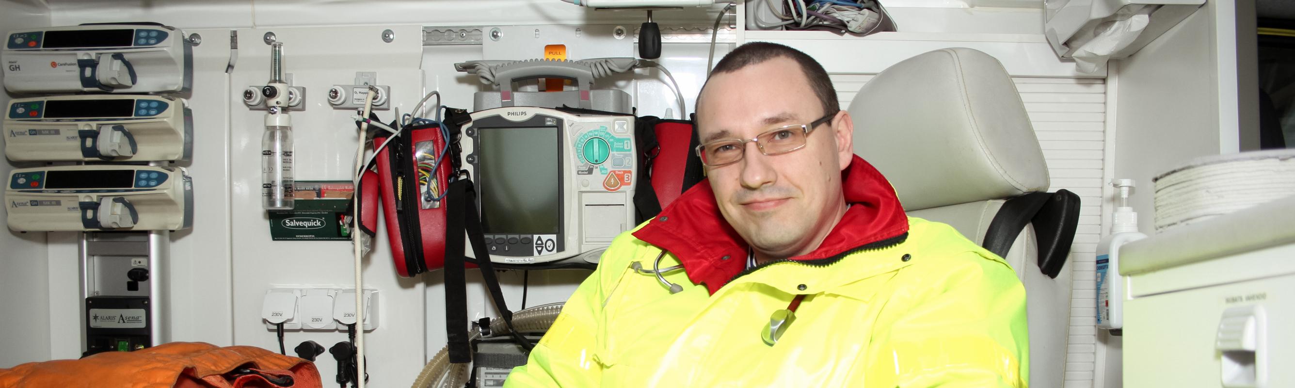 Head of Ambulance Centre dr Arkadi Popov