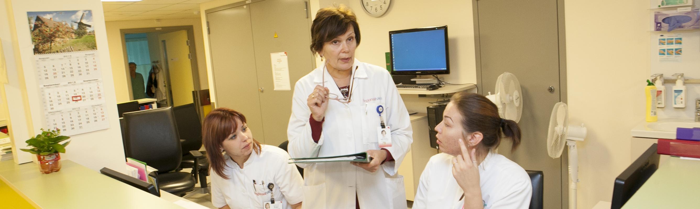 Dr Regina Rooneem keemiaravi osakonna õepostis