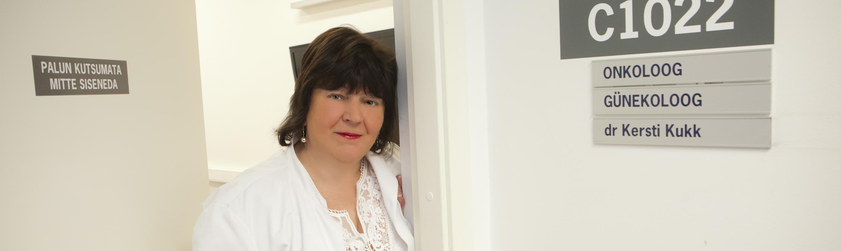 Keskuse juhataja dr Kersti Kukk