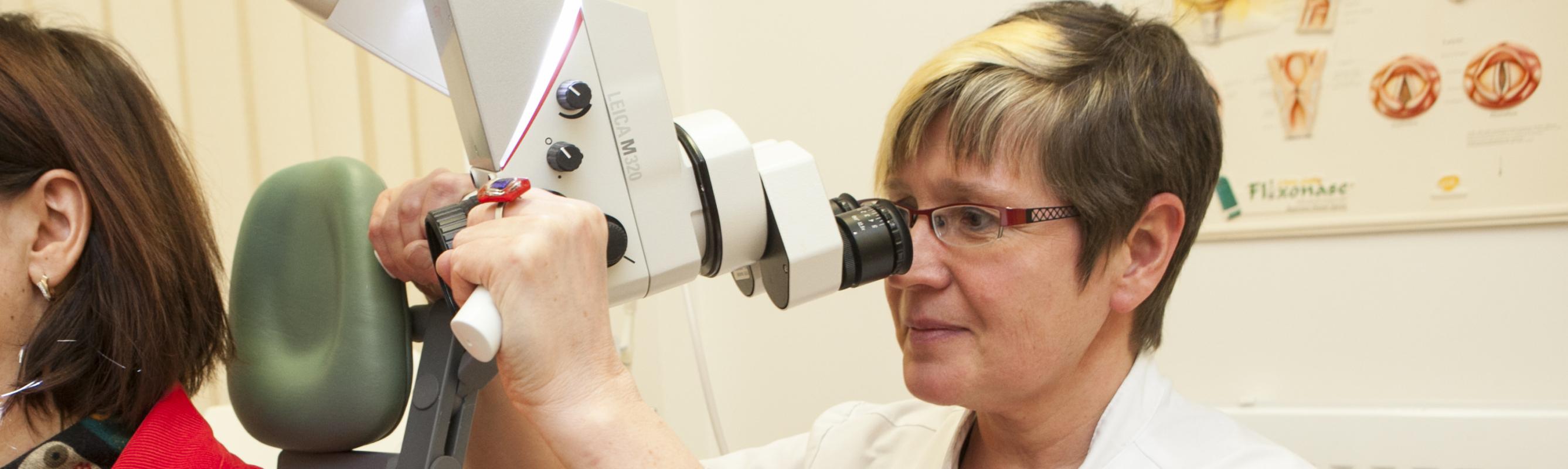 Dr Annika Jussi polikliiniku vastuvõtul