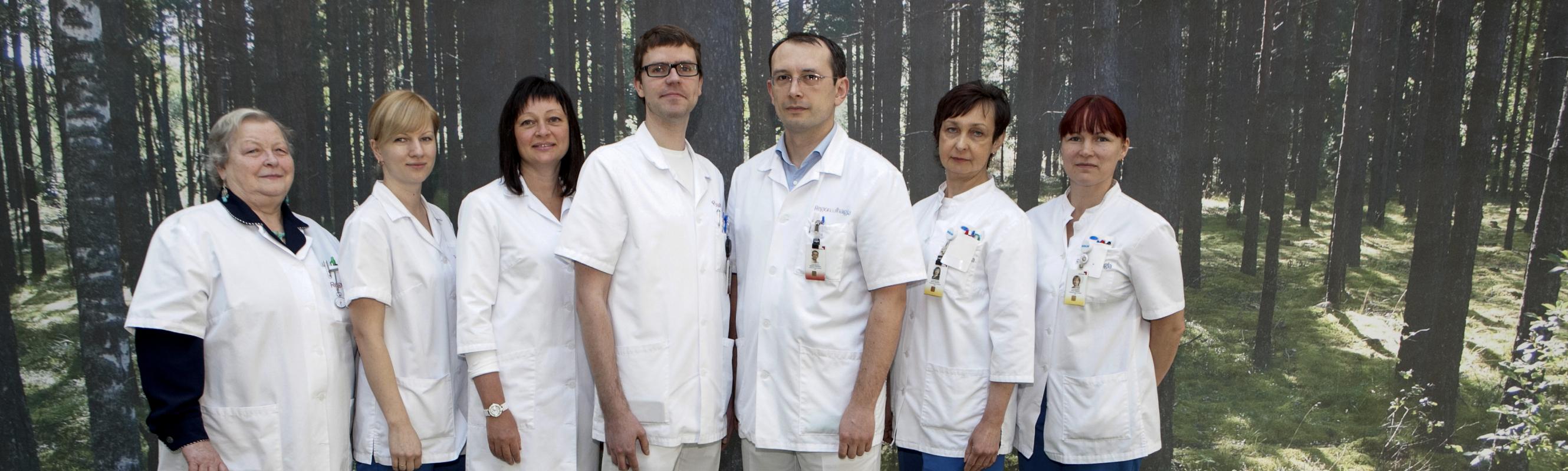 Infektsioonikontrolli talituse töökas kollektiiv