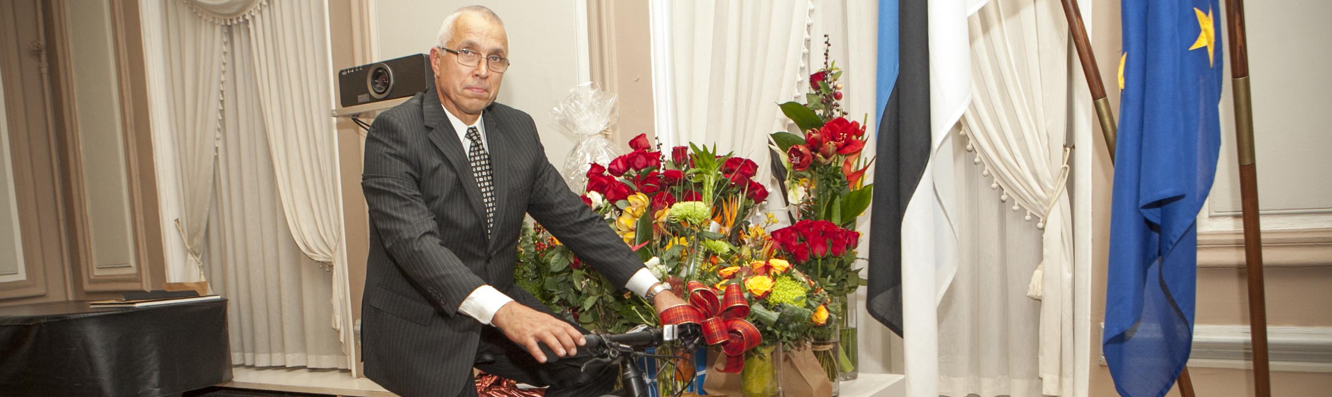 Regionaalhaigla Grand Man 2014 üldkirurg dr Jaan Tepp