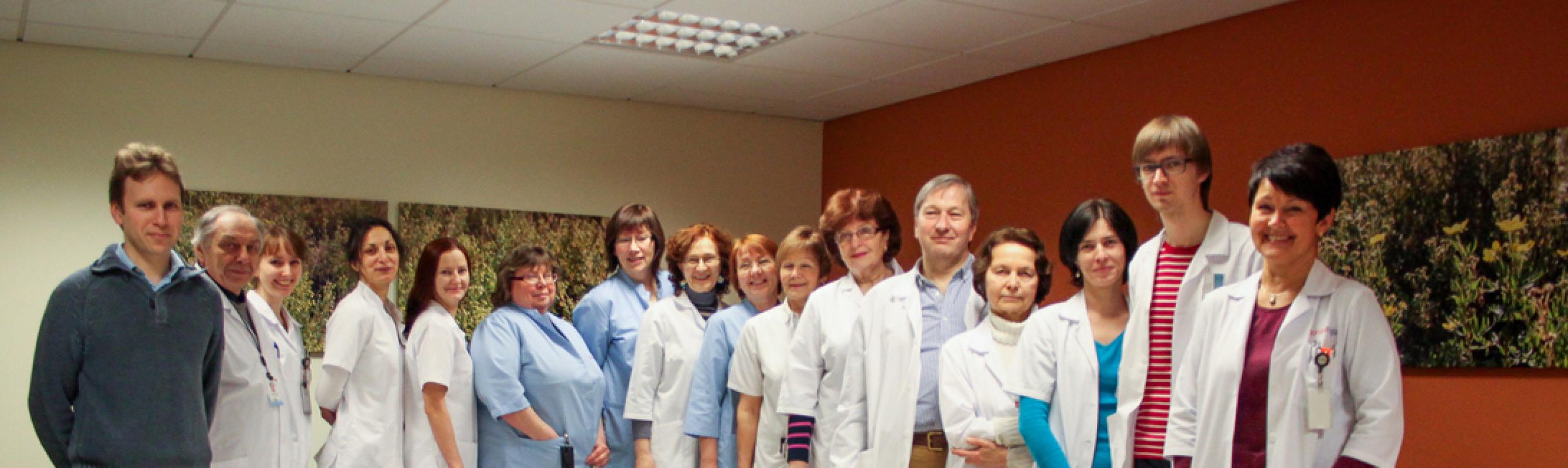 Kiiritusravi keskuse töökas meeskond