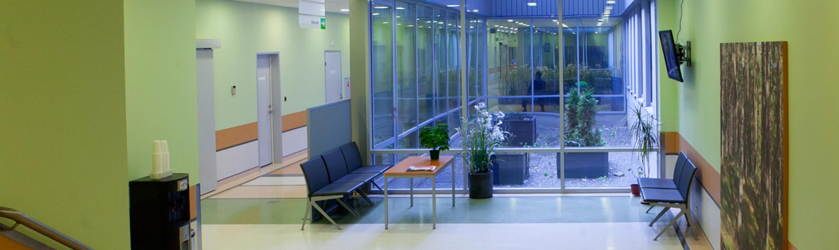 Kiiritusravi keskuse ooteruum