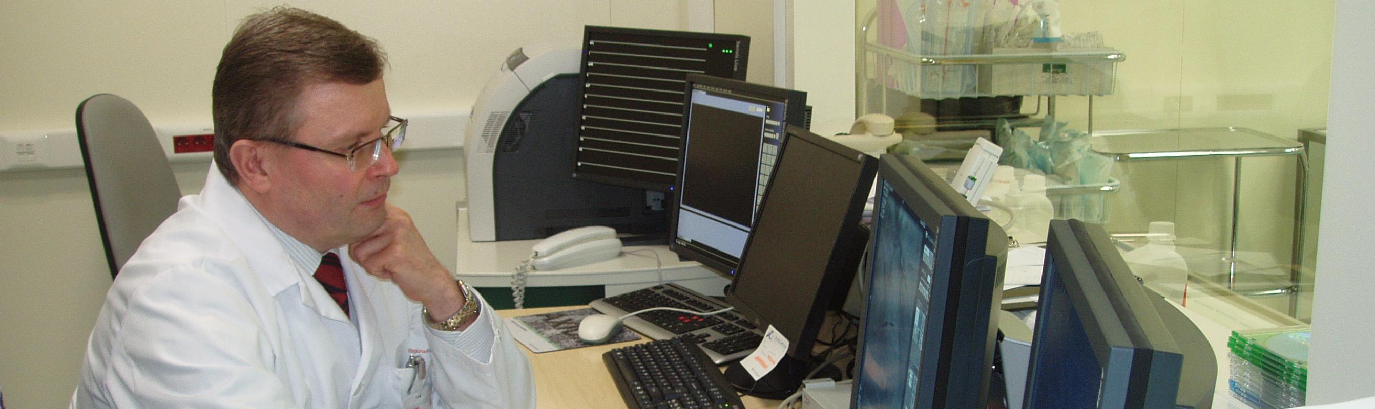 Kardioloogiakeskuse juhataja dr Jaanus Laanoja