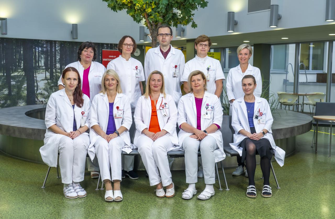 Regionaalhaigla onkogünekoloogia töörühm