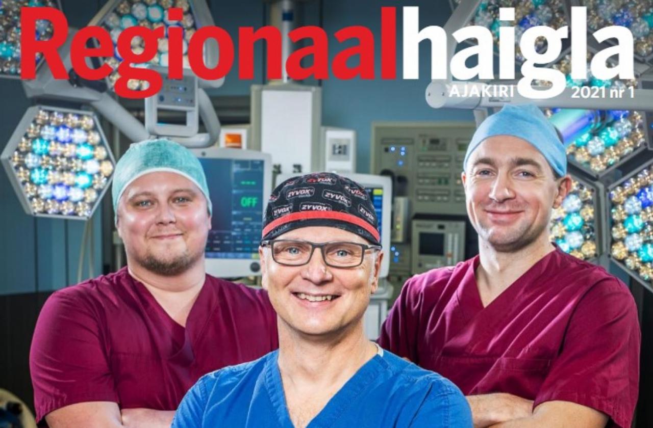 Regionaalhaigla ajakiri 2021 nr 1