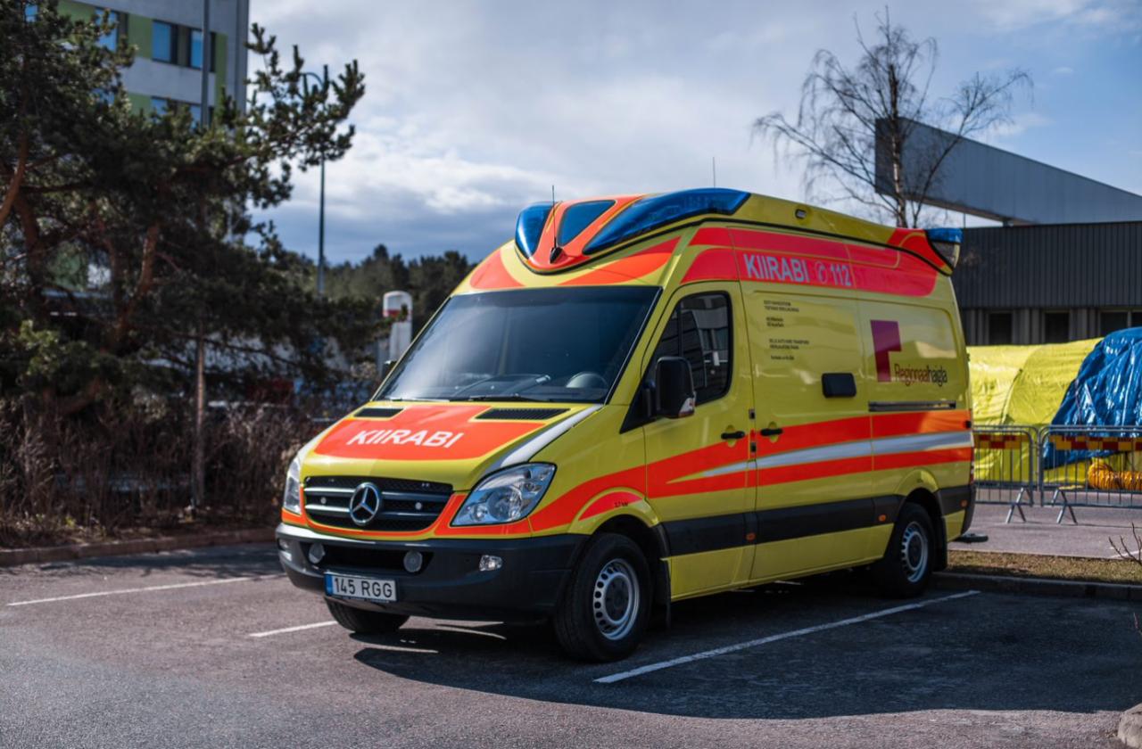 Silberauto AS andis Regionaalhaiglale kasutamiseks kiirabiauto